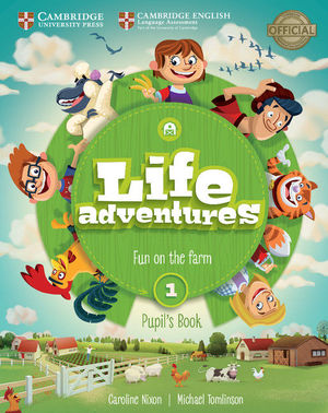 LIFE ADVENTURES. PUPIL'S BOOK. LEVEL 1