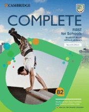 COMPLETE FIRST FOR SCHOOLS FOR SPANISH SPEAKERS ST