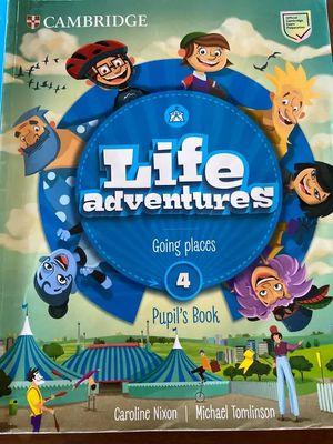 LIFE ADVENTURES.  PUPIL'S BOOK. LEVEL 4