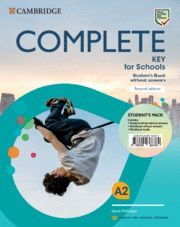 COMPLETE KEY FOR SCHOOLS PACK STUDENTS WITHOUT ANSWERS WITH WORKBOOK AND AUDIO S