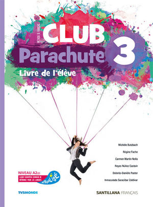 CLUB PARACHUTE 3 PACK ELEVE