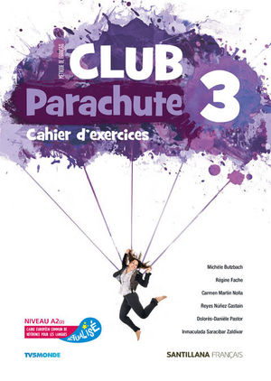 CLUB PARACHUTE 3 PACK CAHIER D'EXERCICES