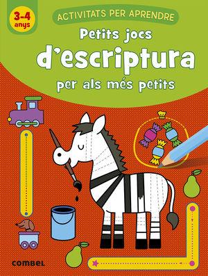 PETITS JOCS D'ESCRIPTURA PER ALS MÉS PETITS (3-4 ANYS)