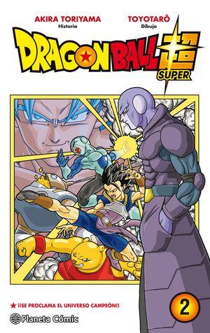 DRAGON BALL SUPER Nº 02
