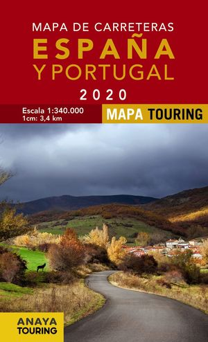 MAPA DE CARRETERAS DE ESPAÑA Y PORTUGAL 1:340.000, 2020