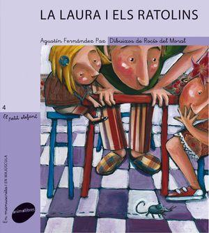 EL PETIT ELEFANT 4. LA LAURA I ELS RATOLINS (LLETRA PAL/LLIGADA)
