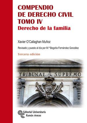 COMPENDIO DE DERECHO CIVIL. TOMO IV