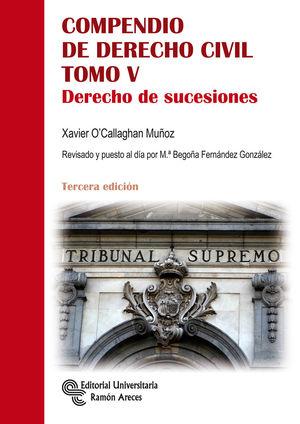 COMPENDIO DE DERECHO CIVIL. TOMO V