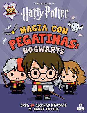 MAGIA CON PEGATINAS. HOGWARTS