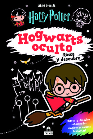 HARRY POTTER. HOGWARTS OCULTO RASCA Y DESCUBLE