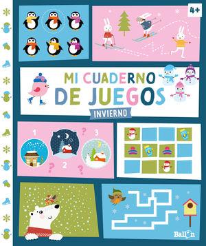 MI CUADERNO DE JUEGOS. INVIERNO (+4)