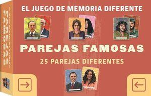 EL JUEGO DE MEMORIA DIFERENTE. PAREJAS FAMOSAS