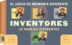 EL JUEGO DE MEMORIA DIFERENTE. INVENTORES