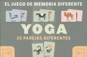 EL JUEGO DE MEMORIA DIFERENTE. YOGA