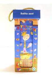 LOS BLOQUES DE LA JIRAFA (SALITA AZUL) 10 LIBROS